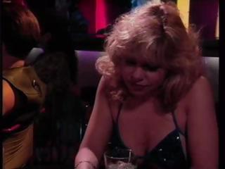 Classic porn with Rebecca Wild picking up a guy at the bar and getting fucked
