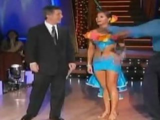 Unbelievably Hot Anna Trebunskaya Dancing In a Super Tight Dress