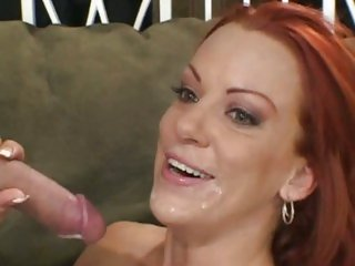 Filthy redhead Shannon Kelly loves a hard pussy fucking