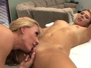 Sizzling Tanya Tate eats out this whores dripping gash