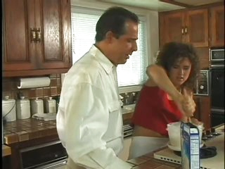Sensual Eva Moore Gets Ass Fucked and Facialized In The Kitchen