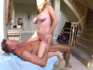 Rampant Katie Kox rides her snatch on a hard fuck shaft