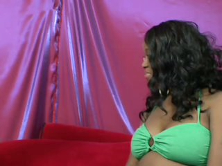 Pregnant Ebony Babe Gives Him Milk