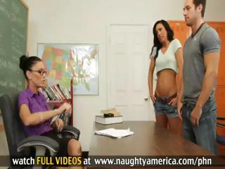 Jessica Jaymes and Tiffany Brookes Have Hot Threesome With Guy