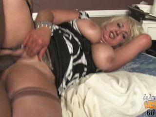 Cock loving Dana Hayes gets her pussy crammed with cock