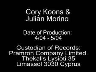 Curly hunks Cory koons and Julian morino fucking