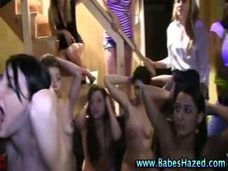 Slutty college lesbians get off