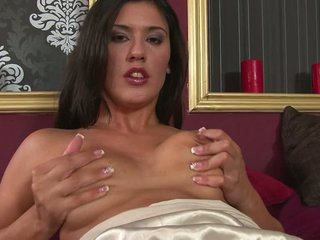 Diana Stewart loves to touch her pussy