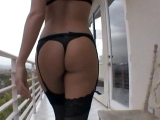 Porn babe Tori Black has her lusty hole hammered