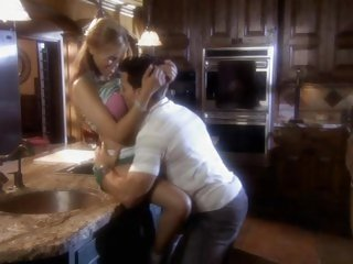 Naughty Nikki Fairchild is stuffed in the kitchen