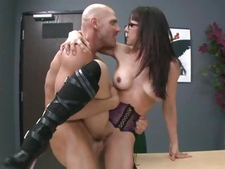 Naughty Cytherea is pounded up her wet pink taco