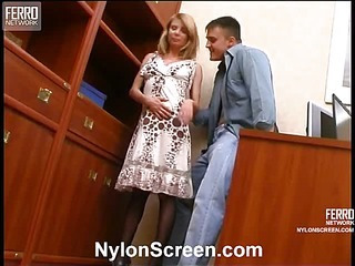Alice&Nicholas hardcore nylon movie