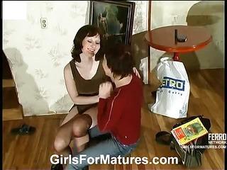 Ethel&Gwendolen mature lesbian video