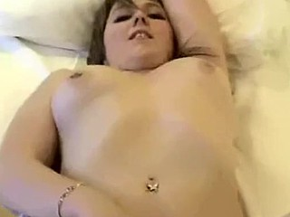 A very hot video of a sexy and sensuous brunette having sex with her man. This beautiful babe strips and plays with herself to get things started.She then gives her man a great blowjob, fucks him until he cums inside her, and then best part of the video is at the end when she masturbates herself to orgasm with her fingers. This babe makes awesome sounds throughout the video which I guarantee will give you a hard on.