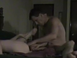 Couple gets a little too dirty when their nude bodies take over their minds. They go wild on the dick and pussy and she even eats his hairy ass! The amateurs surely know how to act like pros.