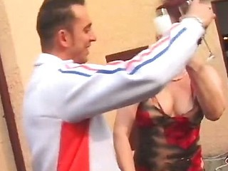 Mature Dame Banged In The Ass By Waiter