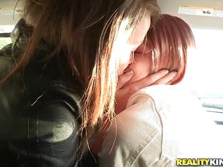 See how these horny teens start kissing in the car, and touching each others hot bodies, being eager to see each others perfect body and craving for some lesbian action. Malena Morgan is a brown haired teen who has eyes mostly for busty women like gorgeous Bree Daniels with that sweet face and all her goods.