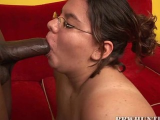 Nasty chubby whore gets banged by pal like not elbow any time previous to in life