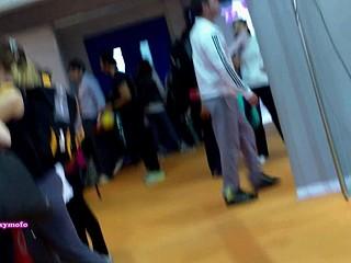 voyeur in the mall