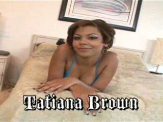 Sweet Tatiana is a hot chocolate fuck