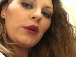 Brunette valley whore sucks, licks ass, and gets fucked